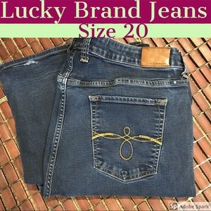 Size 20 Lucky Brand Jeans